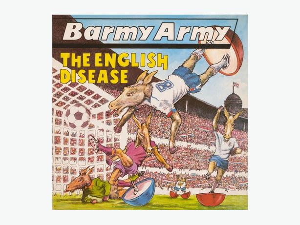 Barmy Army The English Disease LP
