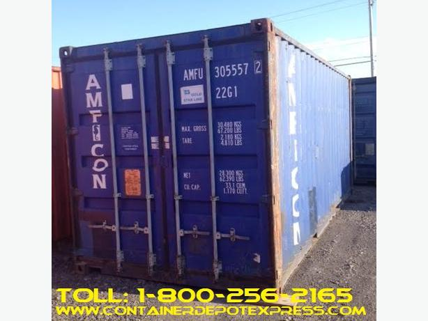 Used Steel Shipping Containers ** RENTAL / PURCHASE