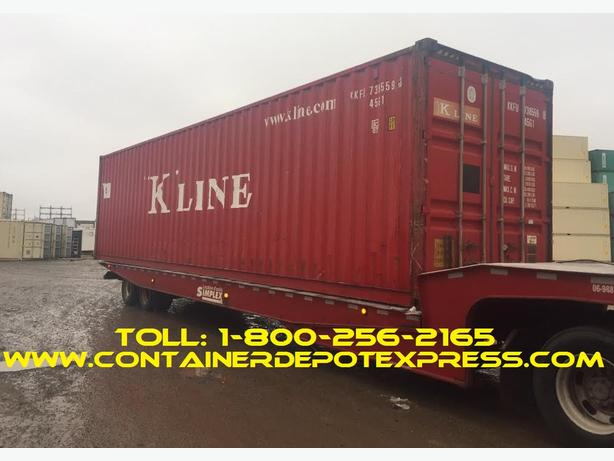 New or Used Steel Storage Containers Steel Shipping Containers for