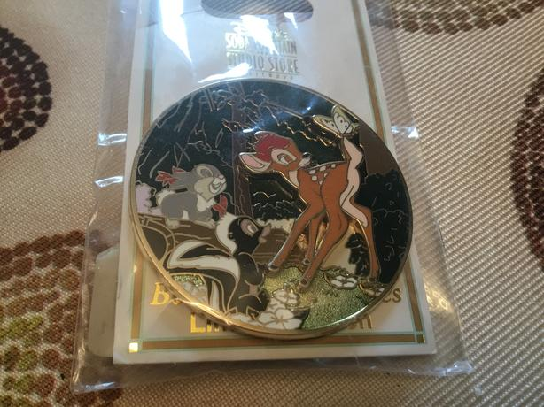 Disney Soda Fountain Beloved Tales Bambi Pin LE 300
