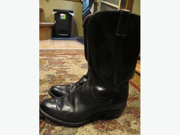 Ladies Wrangler Leather Boots