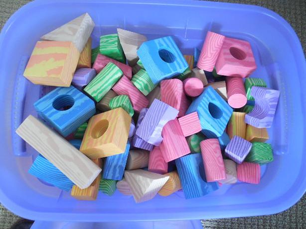 Large Bag of Foam Blocks