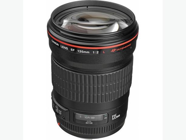 Canon 135mm F2 L USM Lens