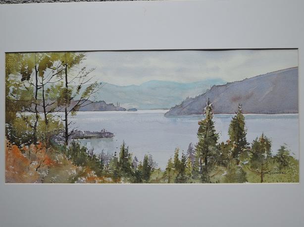 Lake Okanagan by Tom Tinkler