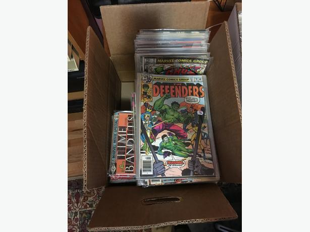 200 + Comic books for sale
