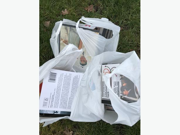 3 big free bags of media