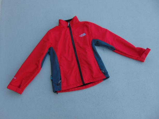 Light Jacket Child Size 14 Youth The North Face Black Micro Fleece Lining
