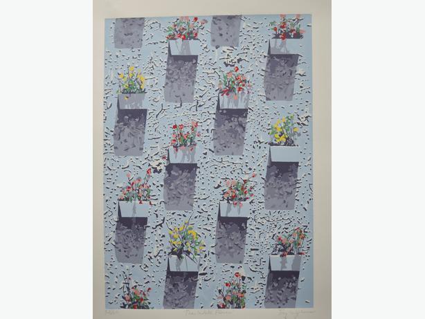 Wall Flowers by Tony Wypkema