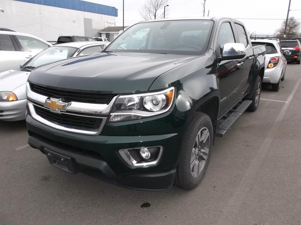 2015 CHEVROLET COLORADO CREW CAB 4X4 FOR SALE