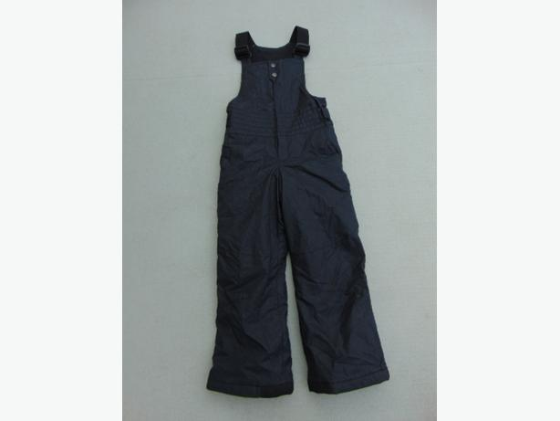 Snow Pants Child Size 6 X Columbia Black With Bib New Demo Model