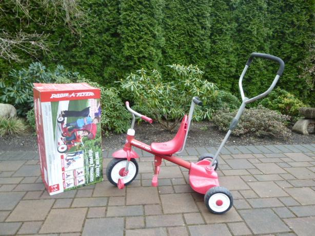 EUC 4-in-1 Radio Flyer Trike