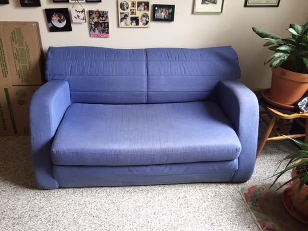 free fold-out sofa bed
