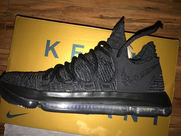 kd 10 black out size 12