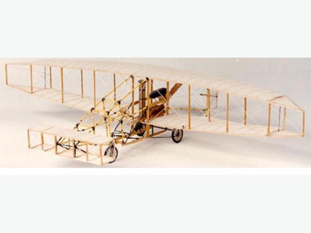 New Easy Build models balsa model kit:  The Silver Dart