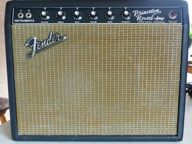 1966 Fender Princeton Reverb amp and cool extras