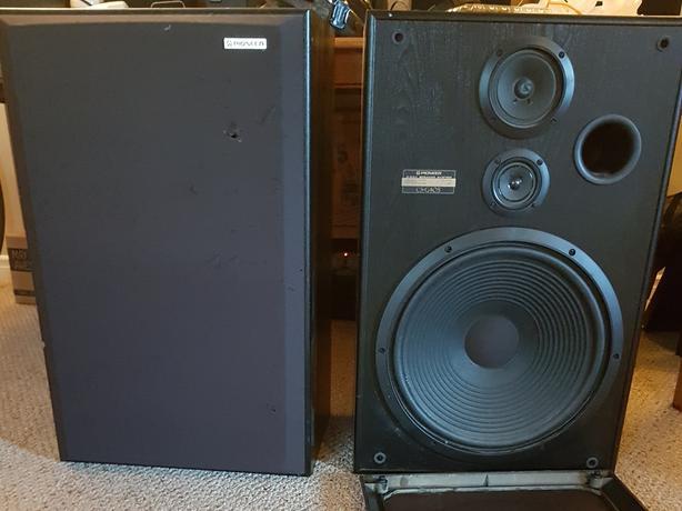 Large pioneer speakers