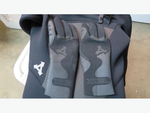 Womens Neoprene Gloves Paddling Surfing