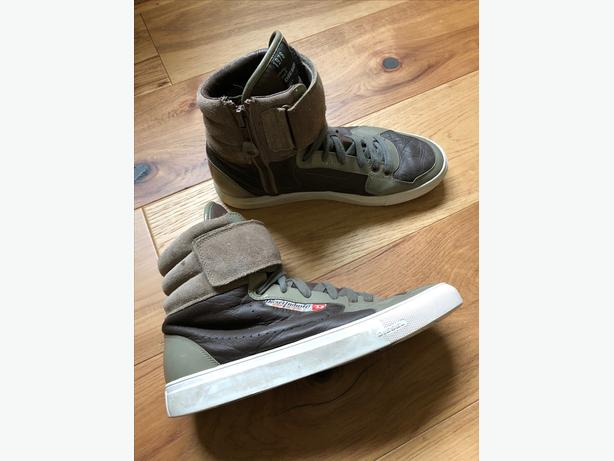 Diesel Clawstrap High-top Sneakers Mens Size 10 $60 OBO