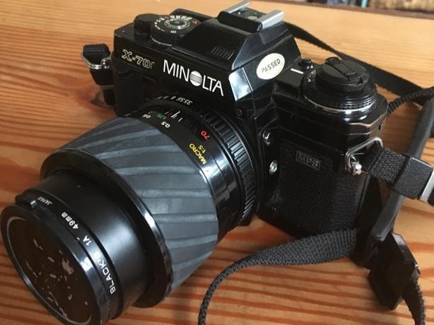 Minolta X-700 SLR film camera