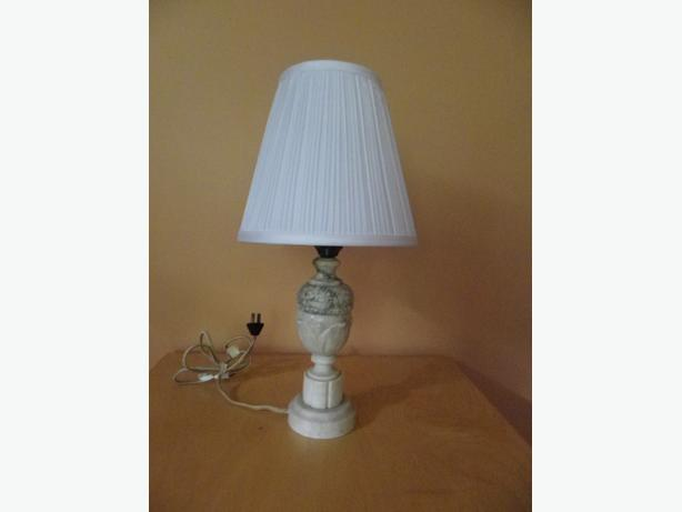 Antique Marble Based Lamps