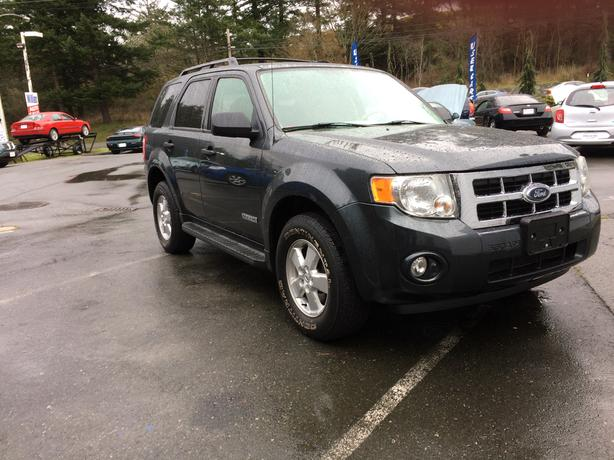 2008 Ford Escape 4cyl 4x4 119k Williams Colwood 778 265 8689