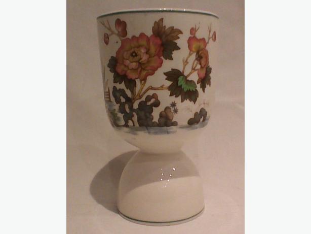 "Wedgwood & Barlaston ""Eastern Flowers"" large egg cup"