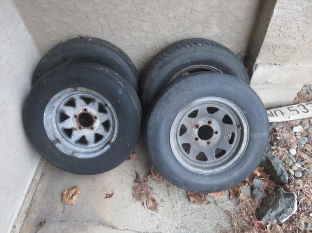 Triler Tire,rims and floats