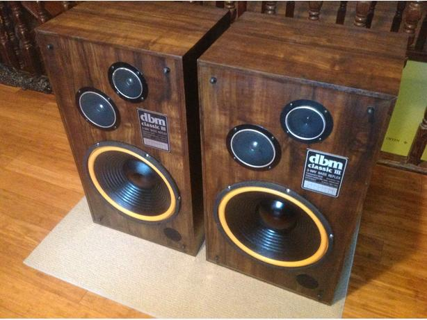DBM Classic III speakers