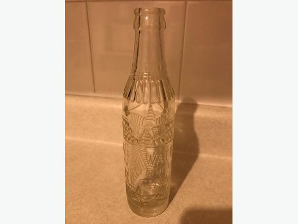 Vintage pop bottle