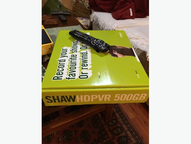 Shaw cable box with PVR