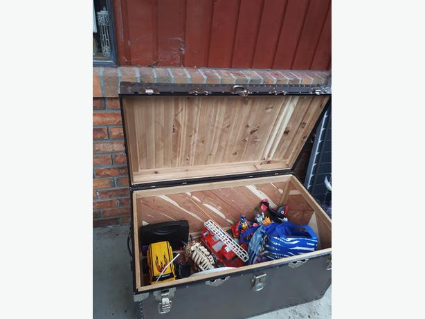 Beautiful Antique trunk for sale