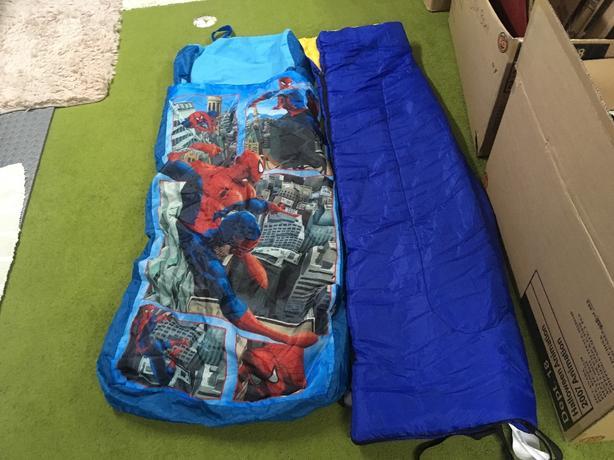 Sleeping Bag / Spider man Air Mattress