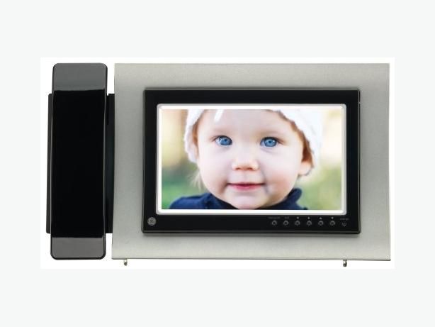"GE 7"" DIGITAL PHOTO FRAME W/DECT 6.0 PHONE W/CALLER ID"