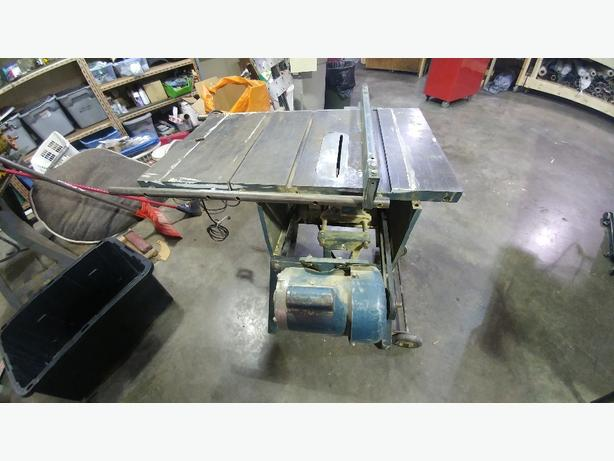 beaver rockwell table saw