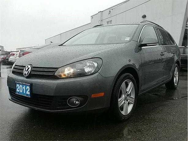 2012 Volkswagen Golf Wagon Highline TDI BC CAR ! RARE !