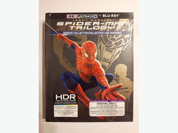Spider-Man Trilogy: Origins Collection (4K Ultra HD + Blu-ray + Digital HD)