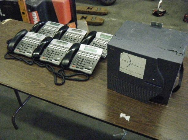 NEC Elite P1 IPKII Package Phone System