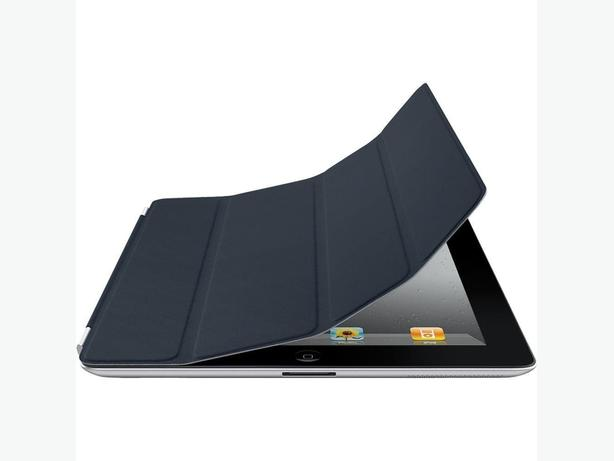 Apple Genuine iPad 2, 3, 4 Smart Cover MD303LL/A Leather Navy - NEW