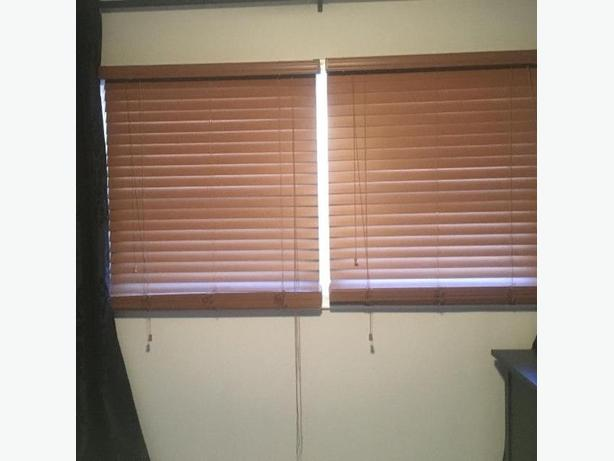 Faux Wood Blinds - 2 for price of 1
