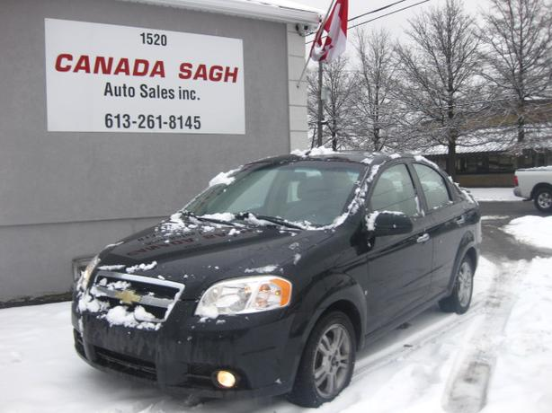 2010 Chevrolet Aveo LT, AUTO, ROOF, 121km, 12M.WRTY+SAFETY $5490