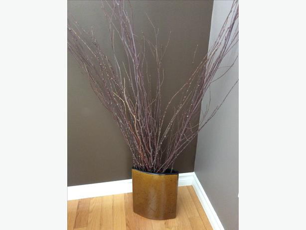 Decorative Vase and Branches