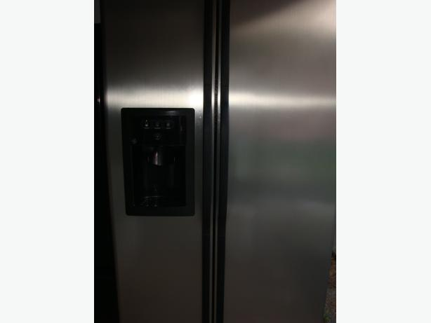Stainless Steel fridge and dishwasher