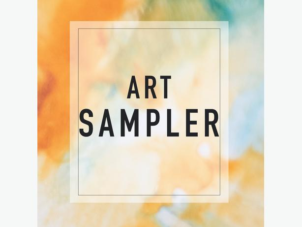 ART SAMPLER - How to use a variety of art mediums