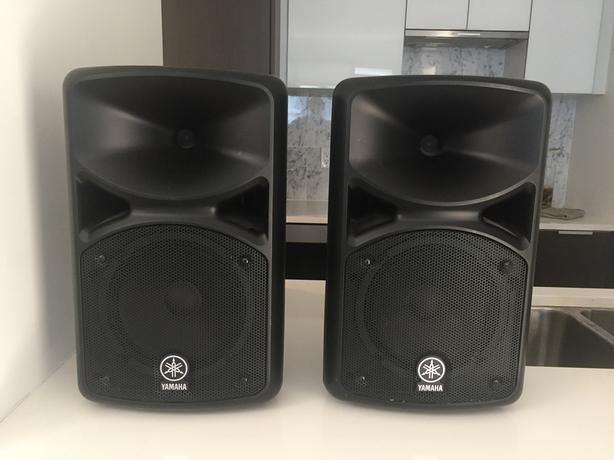 Portable Yamaha PA Speakers