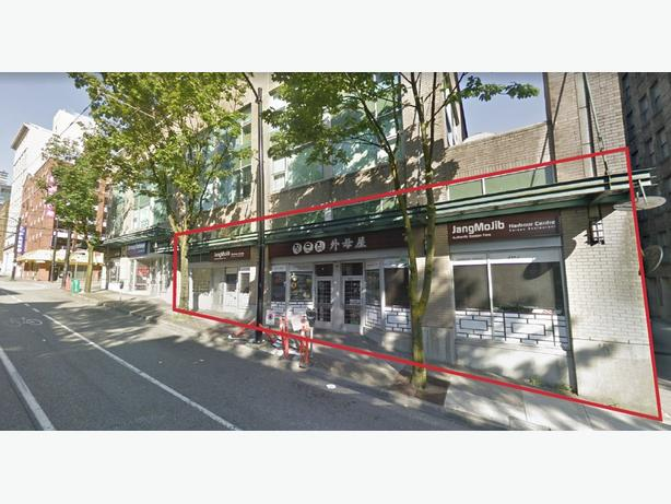 Restaurant on Richards Street, Downtown Vancouver for sale