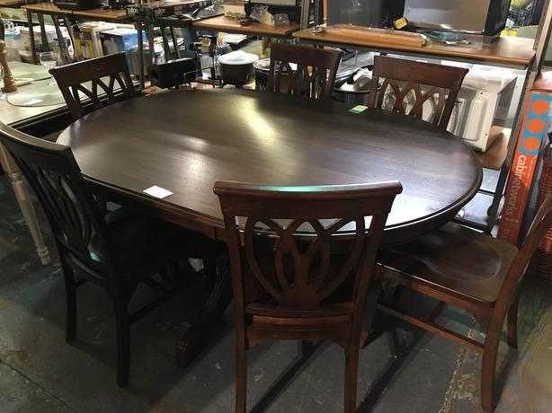 Pier 1 Imports Dining Table W 6 Chairs