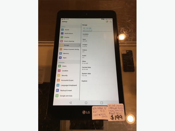 LG G Pad IV 32 GB Cellular Tablet w/ Warranty!