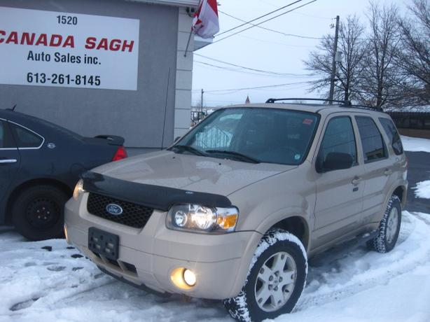 2007 Ford Escape Limited/AWD/ROOF, 12M.WRTY+SAFETY $4900