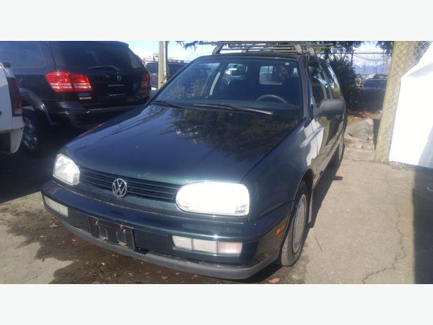 1997 Volkswagen Golf 2 Door Hatchback Manual