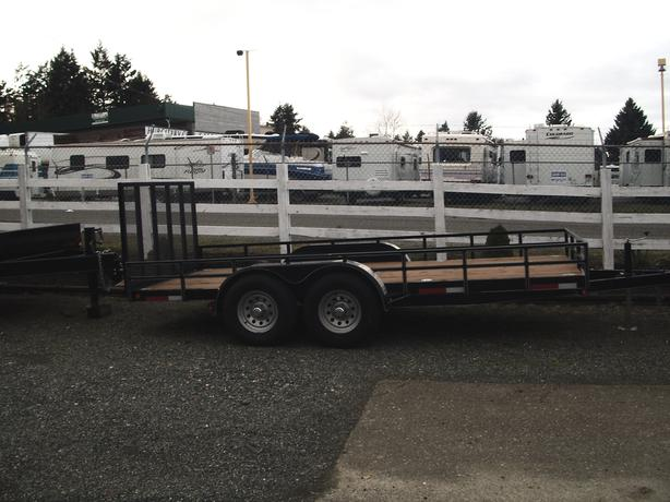 SALE HUNTER/UTV/ATV/LANDSCAPER  79x16 TRAILER